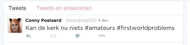 Screenshot tweet