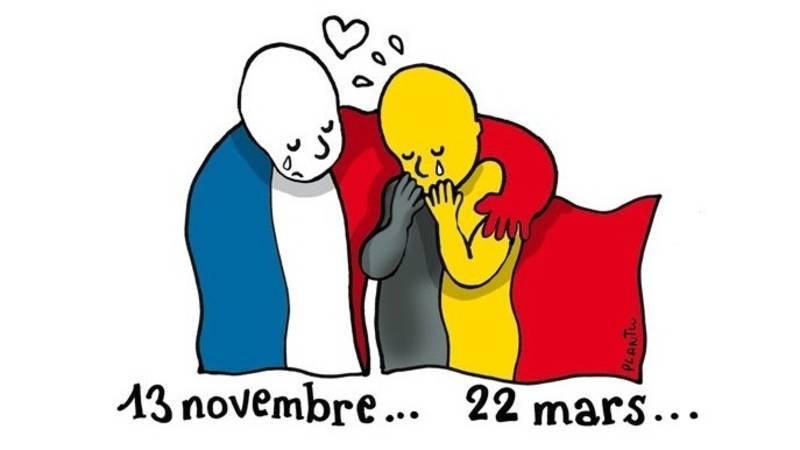 Aanslagen Parijs en Brussel