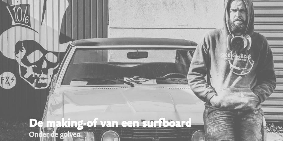 Foto van surfboardshaper Angelo