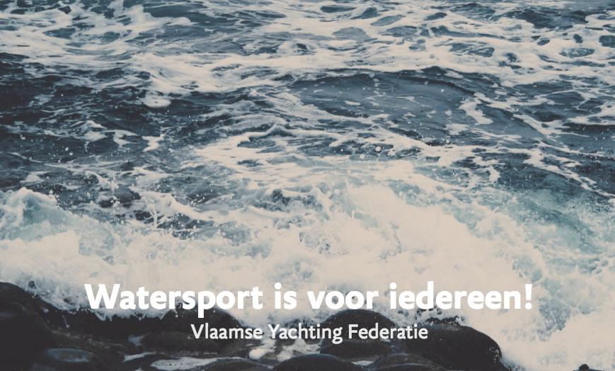 watersport is voor iedereen - openingsbeeld met golven aan de waterkant