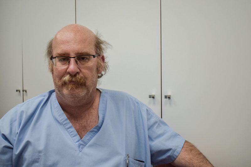 Dokter Nicolas Müller is voorzitter van de MUG-Heli en arts op de Intensieve Zorgen van het AZ Sint-Jan in Brugge