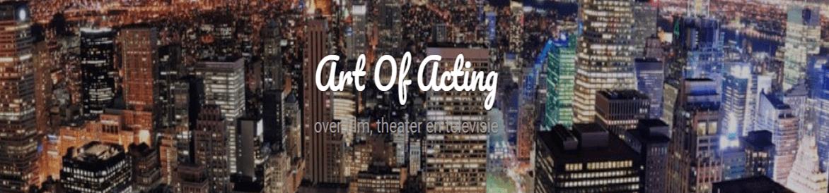 Logo van mijn blog: 'Art Of Acting'
