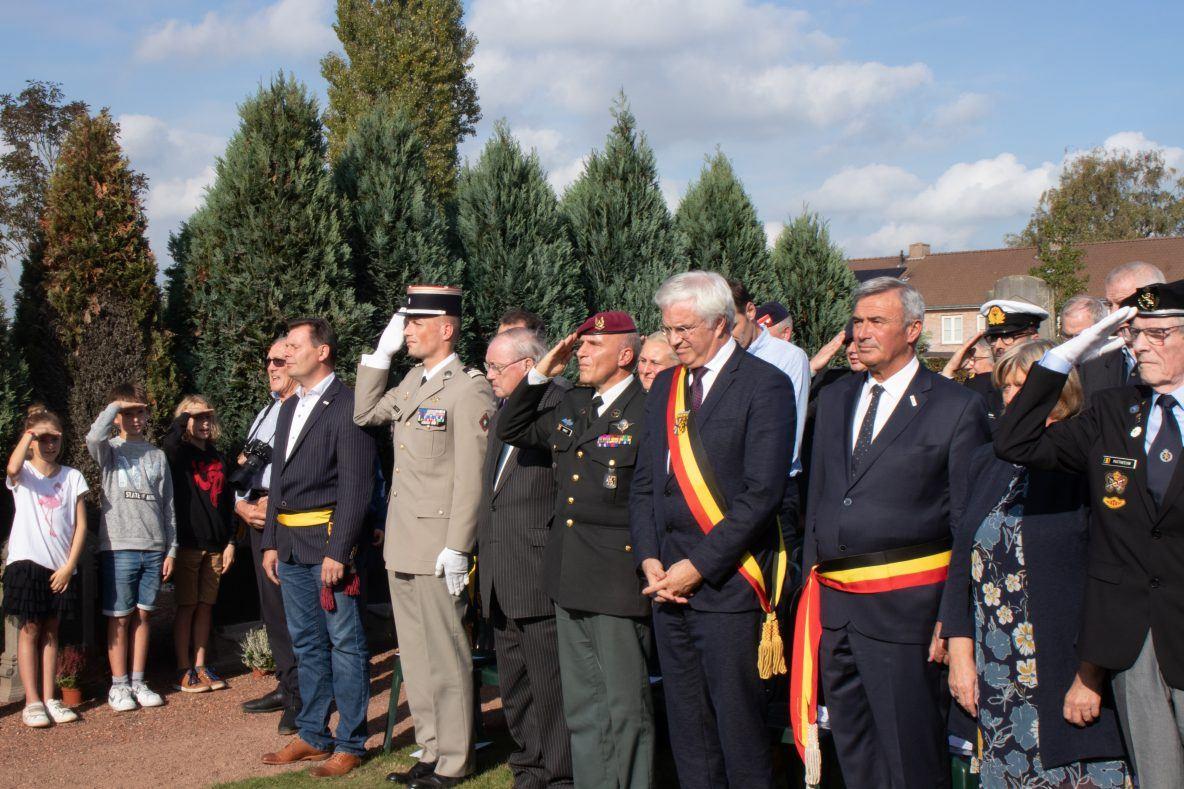 Herdenking Slag van de Ringbeek in Wingene - Foto: Sybren Bruneel