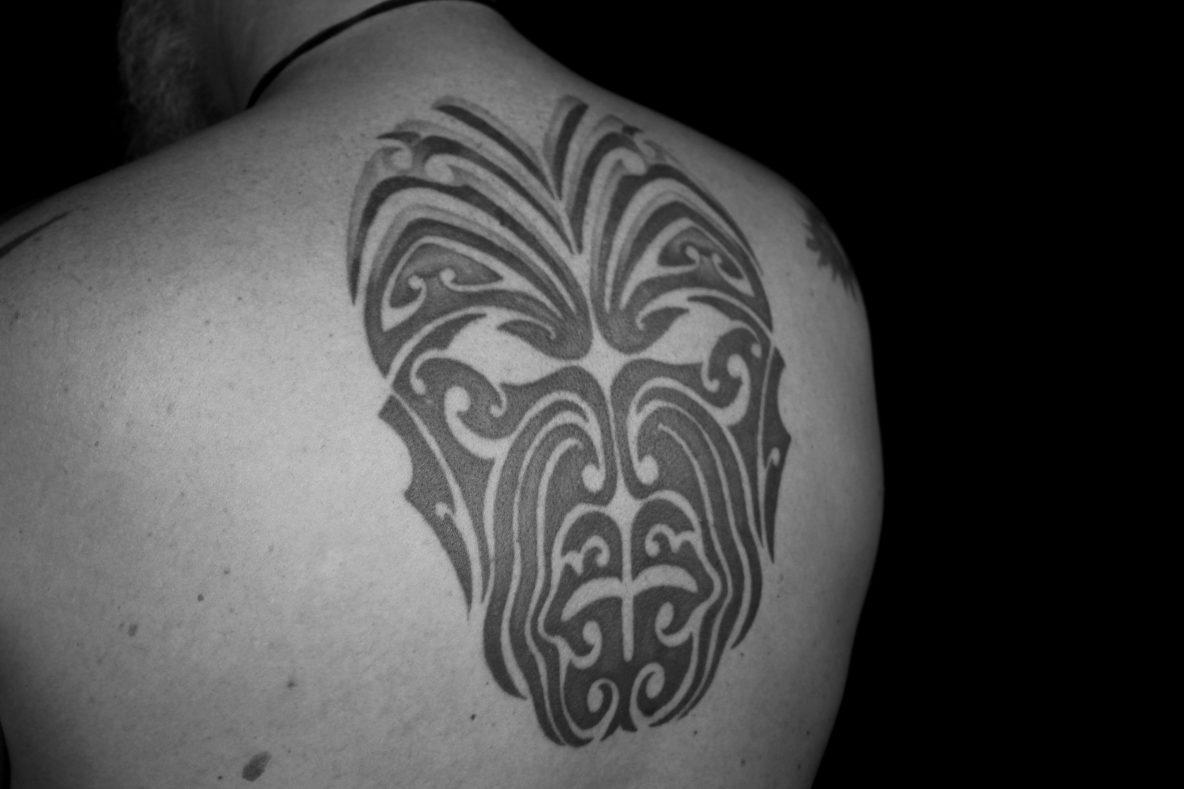 Maori tatoeage