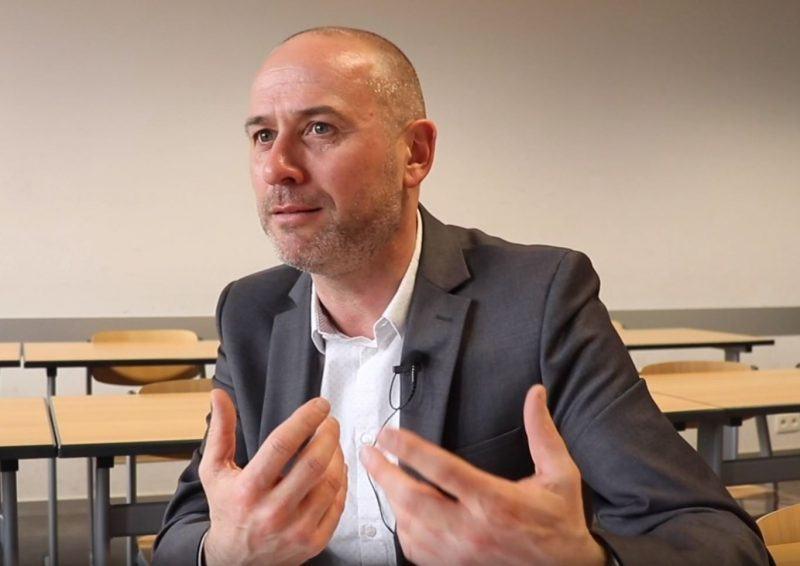 Vincent Vandenameele Algemeen Directeur Vormingsfonds voor Uitzendkrachten (VFU) (Foto: Femke Doom)