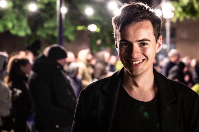 Ward Rombaut (20) uit Brugge
