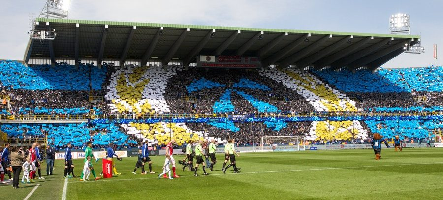 Tifo c) Club Brugge